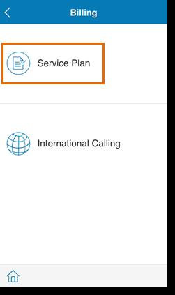 Tap Service Plan.