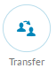The Transfer button allows you to transfer a call to another number or extension.