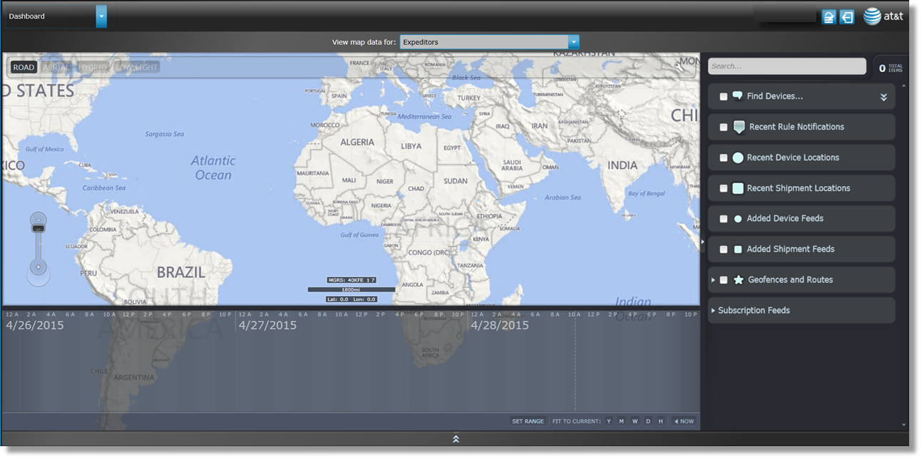 Adding The Latitude And Longitude Sensor To The Map Using The ATT - Argentina map with latitude and longitude