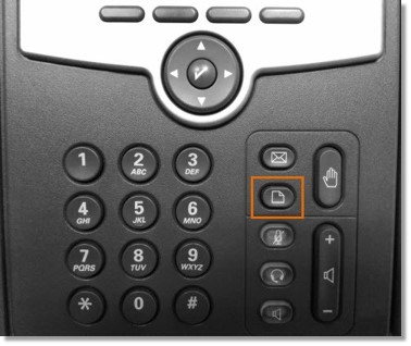 Press the Setup button on your Cisco phone.