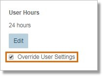 On the User Details section, click Edit under User Groups.