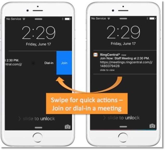 Smart Notifications with Quick Actions