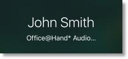 Office@Hand call