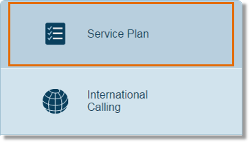 Click Service Plan.