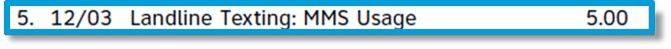 Image of API MMS usage.