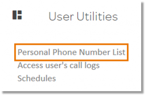 Click Personal Phone Number List