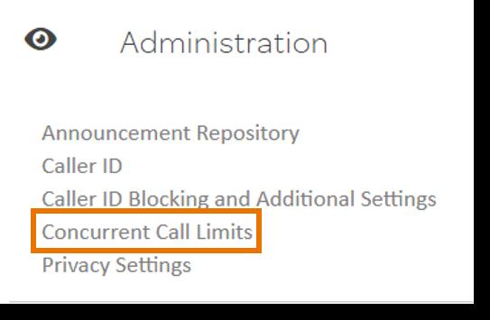 Click Concurrent Call Limits