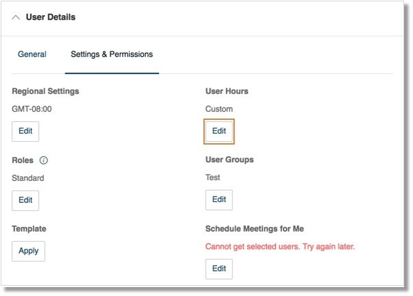 Configure your Timezone, click Edit under Regional Settings