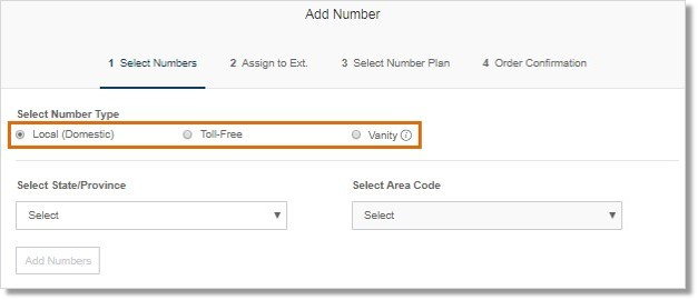 Select the type of number that needs to be added.