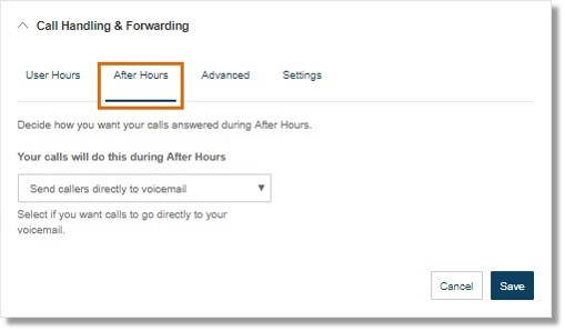 Decide how you want your calls answered during After Hours.