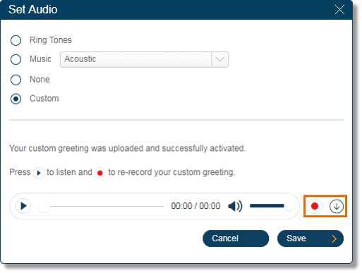 Setting up call handling for business hours and after hours of a preview the uploaded voicemail greeting click the record button to upload a different file or m4hsunfo