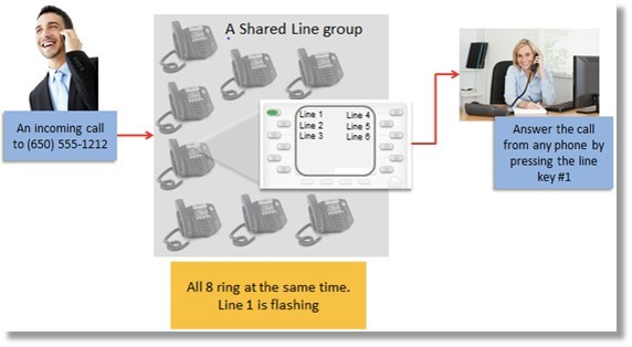 Shared Lines Overview