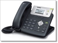 A Yealink T21P phone can be purchased from third-party vendors.