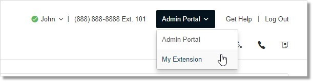 If you are logged in as an Administrator, you will need to go to My Extension in order to view the Settings tab.