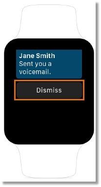 Dismiss/ignore calls