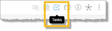 Click the Tasks icon