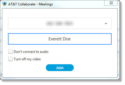 Join meeting (web and desktop)