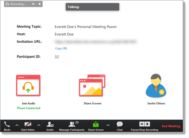 Meeting space (web and desktop)