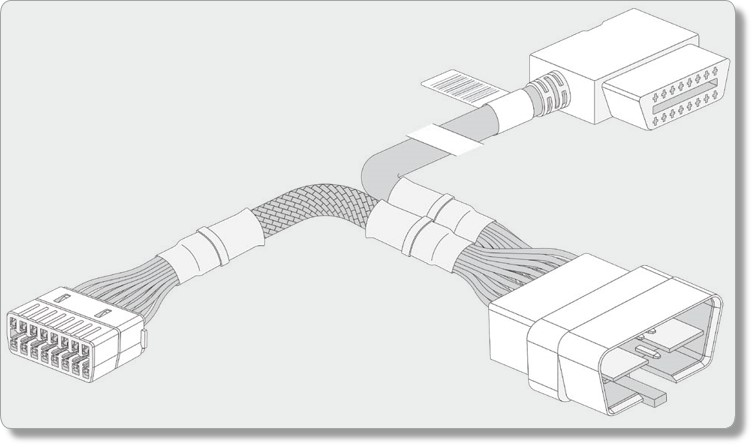 Image of the HRN-GS16k harness.