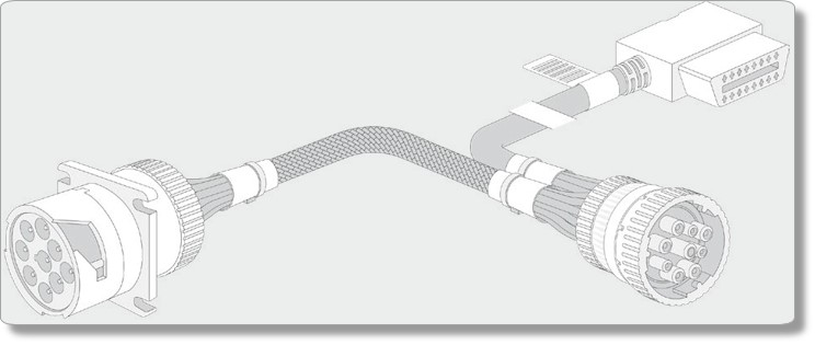 Image of the HRN-GS09K2 harness.