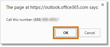 Click the number you want to call, then click Ok on the confirmation window.